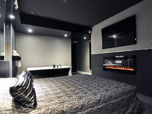 Chambre luxueuse - Foyer - Complexe Hotelier Le 55