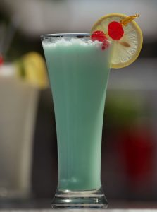 Cocktail blue hawaiian - Complexe Hotelier Le 55