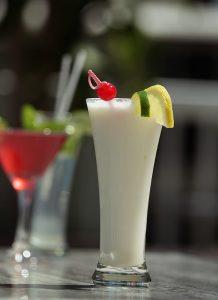 Cocktail pina colada - Complexe Hotelier Le 55