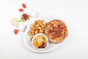 Pizza déjeuner - Complexe Hotelier Le 55