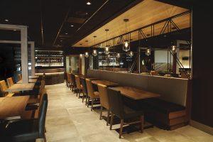Salle à manger - Banquette - Complexe Hotelier Le 55