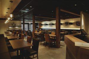 Salle à manger - Bar - Complexe Hotelier Le 55