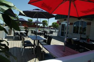 Terrasse - Complexe Hotelier Le 55